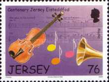 [The 100th Anniversary of Jersey Eisteddfod - Art Festival, Typ AXB]