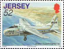 [Aviation History - The 75th Anniversary of The First Flight from Jersey to South Hampton, Typ AYW]