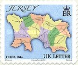 [Maps of Jersey - Self Adhesive, Typ BBP]