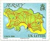 [Maps of Jersey - Self Adhesive, Typ BBR]