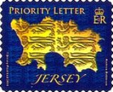 [Map of Jersey - Self Adhesive Stamps, type BDX1]