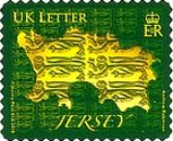 [Map of Jersey - Self Adhesive Stamps, type BDX2]