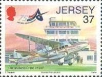 [Airplanes - The 75th Anniversary of Jersey Airport, type BHE]