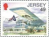 [Airplanes - The 75th Anniversary of Jersey Airport, type BHF]