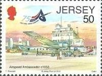 [Airplanes - The 75th Anniversary of Jersey Airport, type BHG]