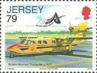 [Airplanes - The 75th Anniversary of Jersey Airport, type BHI]