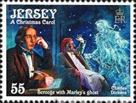 [Christmas - The 200th Anniversary of the Birth of Charles Dickens, 1812-1870, type BJO]