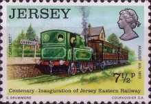 [The 100th Anniversary of the Jersey Eastern Railway, Typ BK]