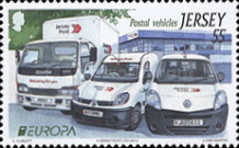 [EUROPA Stamps - Postal Vehicles, type BKN]