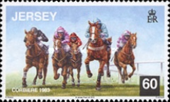 [Horses - Corbiere, Grand National Winner 1983, type BKX]