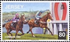 [Horses - Corbiere, Grand National Winner 1983, type BKZ]