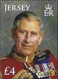 [The 65th Anniversary of the Birth of Prince Charles - White Frame, type BMV]