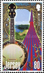 [EUROPA Stamps - Musical Instruments, type BNP]
