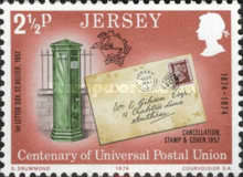 [The 100th Anniversary of the Universal Postal Union, Typ BV]