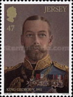 [The Royal Legacy of Queen Victoria – King George V, type BVE]