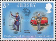 [The 100th Anniversary of the Universal Postal Union, Typ BW]