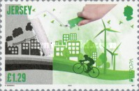 [EUROPA Stamps - Think Green, type BWE]