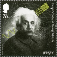 [The 100th Anniversary of the Theory of Relativity by Albert Einstein, 1879-1955, type BWI]