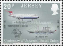 [The 100th Anniversary of the Universal Postal Union, Typ BY]