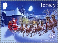[Christmas - Father Christmas in Jersey, Typ BYE]