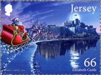 [Christmas - Father Christmas in Jersey, type BYH]