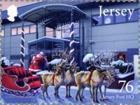 [Christmas - Father Christmas in Jersey, type BYI]