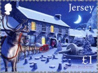 [Christmas - Father Christmas in Jersey, type BYJ]