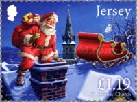 [Christmas - Father Christmas in Jersey, type BYK]