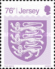 [Definitives - Crest of Jersey, Typ BYO3]