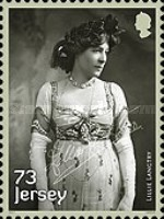 [Lillie Langtry, 1853-1929, Typ CAT]