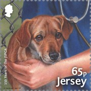 [The 150th Anniversary of the JSPCA - Jersey Society for Prevention of Cruelty to Animals, Typ CDE]