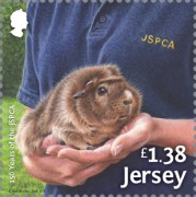 [The 150th Anniversary of the JSPCA - Jersey Society for Prevention of Cruelty to Animals, Typ CDJ]