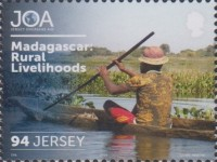 [The 50th Anniversary of Jersey Overseas Aid, Typ CDX]