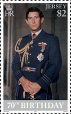 [The 70th Anniversary of the Birth of The Prince of Wales, Typ CEW]