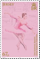 [The 100th Anniversary of the Birth of Margot Fonteyn, 1919-1991, Typ CGG]