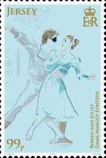 [The 100th Anniversary of the Birth of Margot Fonteyn, 1919-1991, Typ CGJ]