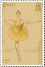 [The 100th Anniversary of the Birth of Margot Fonteyn, 1919-1991, Typ CGK]