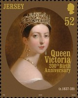[The 200th Anniversary of the Birth of Queen Victoria, 1819-1901, Typ CGT]