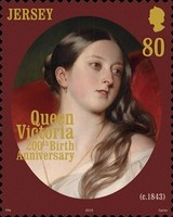 [The 200th Anniversary of the Birth of Queen Victoria, 1819-1901, Typ CGU]