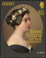 [The 200th Anniversary of the Birth of Queen Victoria, 1819-1901, Typ CGW]
