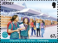[The 100th Anniversary of Girlguiding Jersey, Typ CHT]