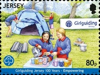 [The 100th Anniversary of Girlguiding Jersey, Typ CHU]