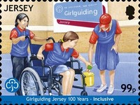 [The 100th Anniversary of Girlguiding Jersey, Typ CHW]