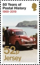 [The 50th Anniversary of Jersey Postal Independence, Typ CIE]