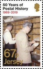 [The 50th Anniversary of Jersey Postal Independence, Typ CIG]
