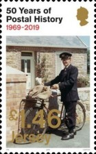 [The 50th Anniversary of Jersey Postal Independence, Typ CIK]