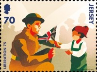 [The 75th Anniversary of the End of World War II, type CJY]