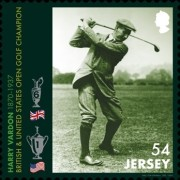 [The 150th Anniversary of the Birth of Harry Vardon, 1870-1937, type CKL]