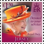 [Devoted to Your Service - The 95th Anniversary of the Birth of Queen Elizabeth II, type CNO]