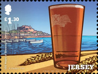 [The 150th Anniversary of Brewing in Jersey, type CPM]